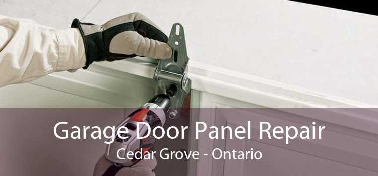 Garage Door Panel Repair Cedar Grove - Ontario
