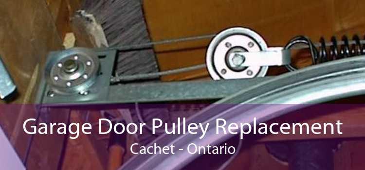 Garage Door Pulley Replacement Cachet - Ontario