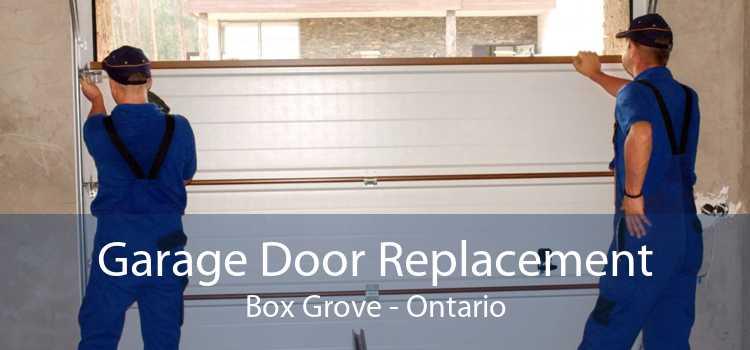 Garage Door Replacement Box Grove - Ontario