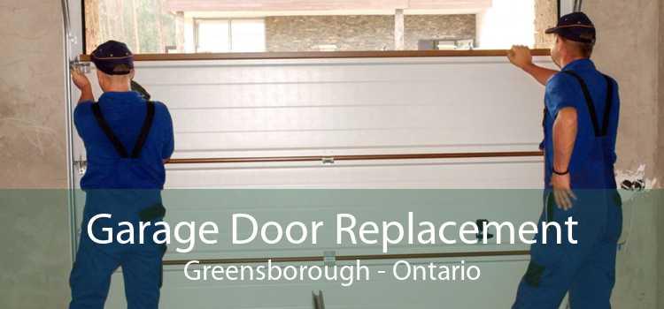 Garage Door Replacement Greensborough - Ontario