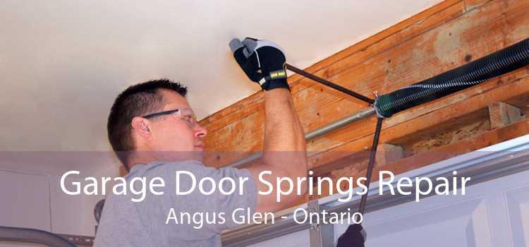 Garage Door Springs Repair Angus Glen - Ontario