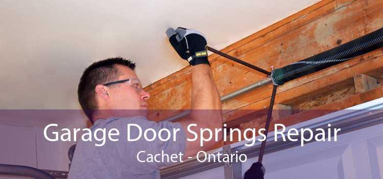 Garage Door Springs Repair Cachet - Ontario