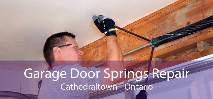 Garage Door Springs Repair Cathedraltown - Ontario
