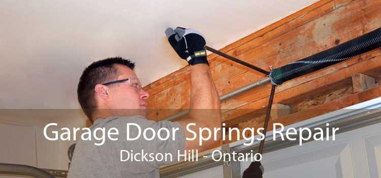 Garage Door Springs Repair Dickson Hill - Ontario