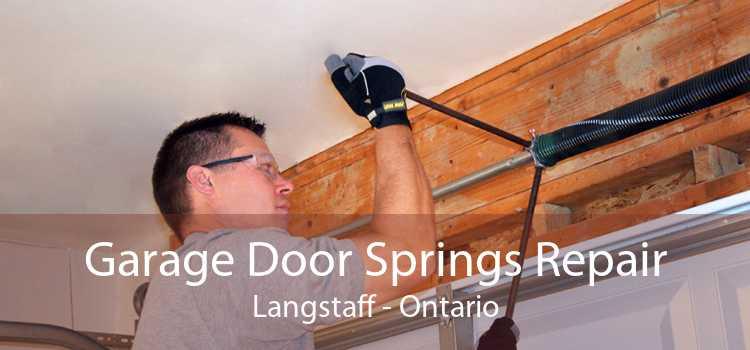 Garage Door Springs Repair Langstaff - Ontario