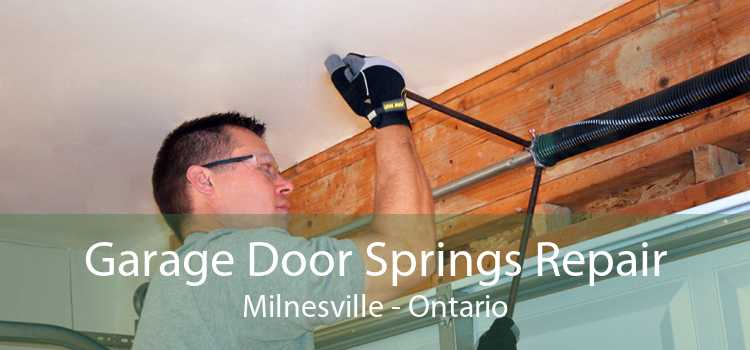Garage Door Springs Repair Milnesville - Ontario