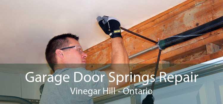 Garage Door Springs Repair Vinegar Hill - Ontario