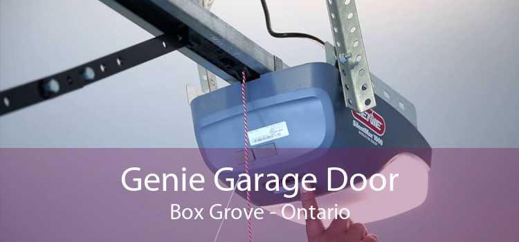 Genie Garage Door Box Grove - Ontario