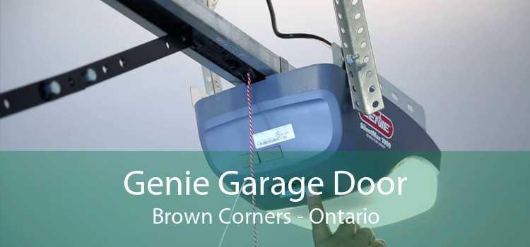 Genie Garage Door Brown Corners - Ontario