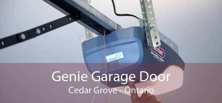 Genie Garage Door Cedar Grove - Ontario