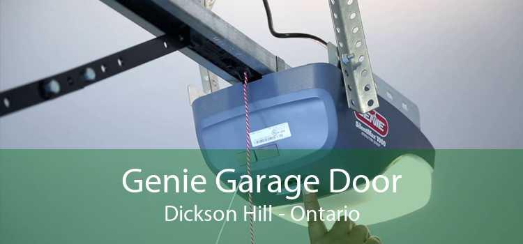Genie Garage Door Dickson Hill - Ontario