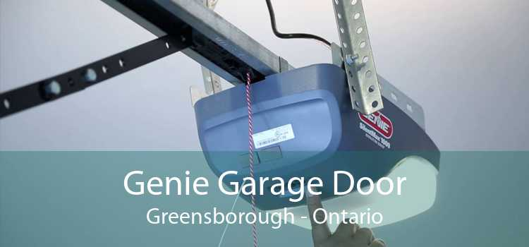 Genie Garage Door Greensborough - Ontario
