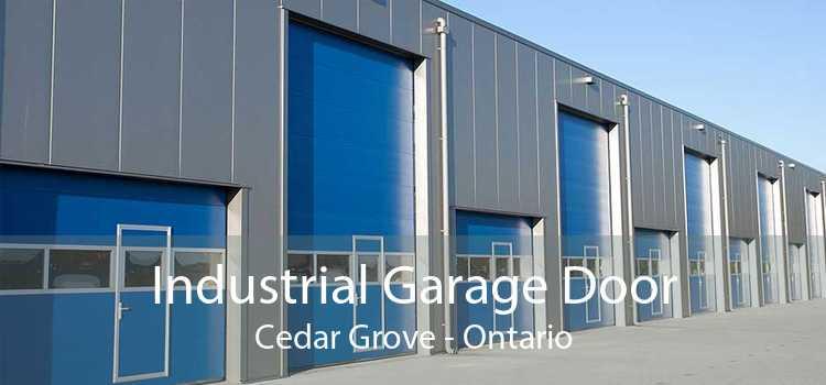 Industrial Garage Door Cedar Grove - Ontario