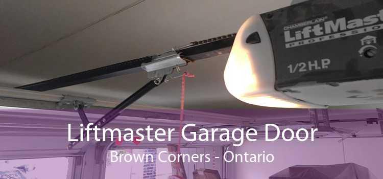 Liftmaster Garage Door Brown Corners - Ontario