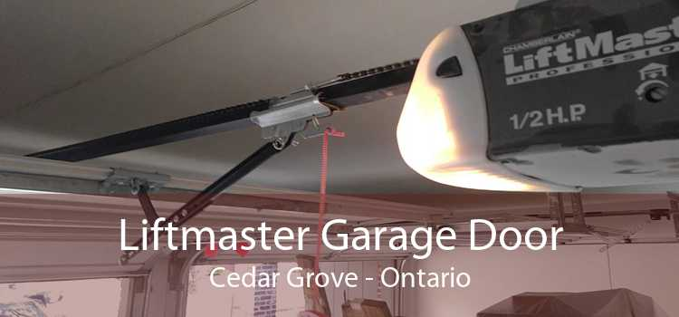 Liftmaster Garage Door Cedar Grove - Ontario
