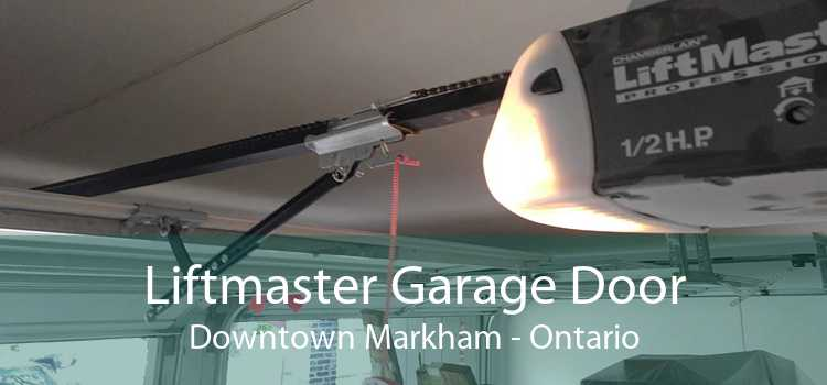 Liftmaster Garage Door Downtown Markham - Ontario