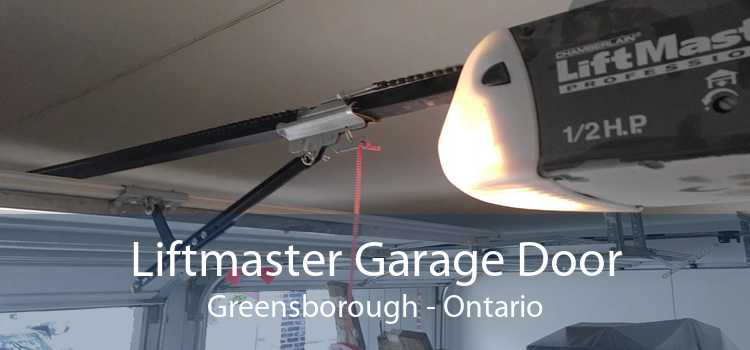 Liftmaster Garage Door Greensborough - Ontario