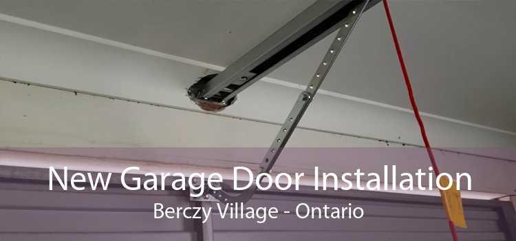 New Garage Door Installation Berczy Village - Ontario