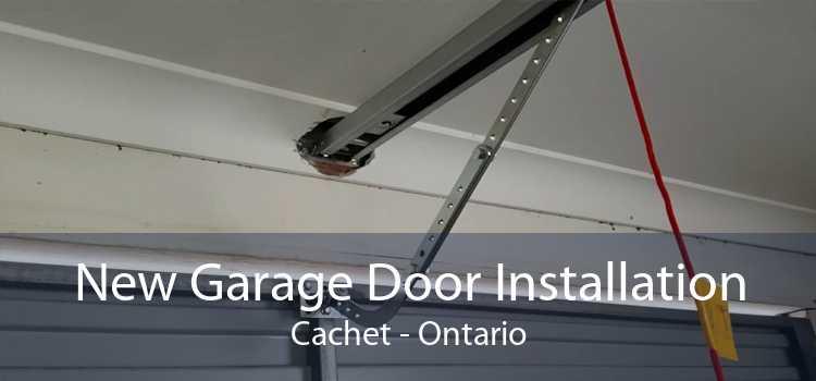 New Garage Door Installation Cachet - Ontario