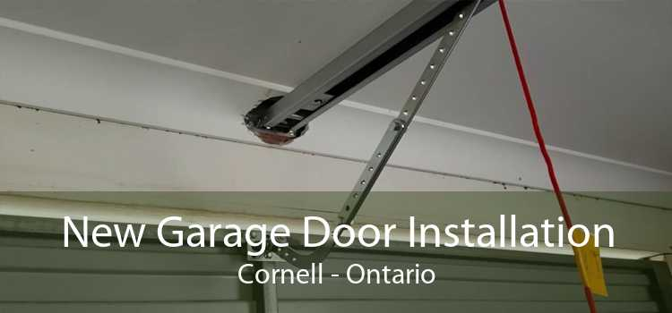 New Garage Door Installation Cornell - Ontario