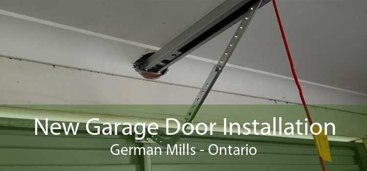 New Garage Door Installation German Mills - Ontario