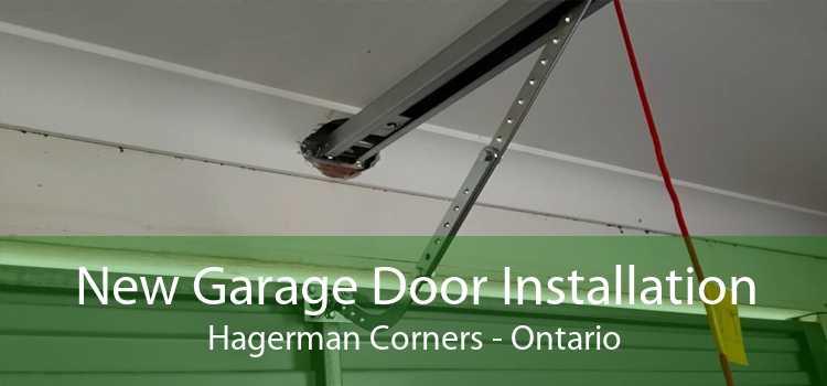 New Garage Door Installation Hagerman Corners - Ontario