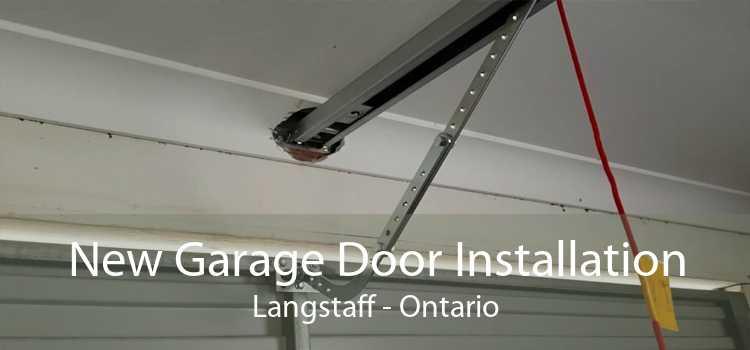New Garage Door Installation Langstaff - Ontario