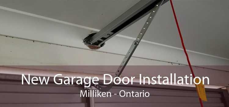 New Garage Door Installation Milliken - Ontario