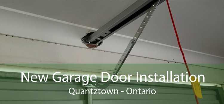 New Garage Door Installation Quantztown - Ontario