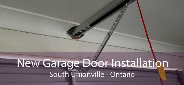 New Garage Door Installation South Unionville - Ontario