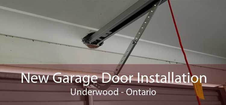 New Garage Door Installation Underwood - Ontario