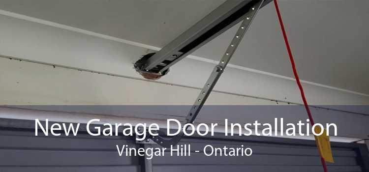 New Garage Door Installation Vinegar Hill - Ontario