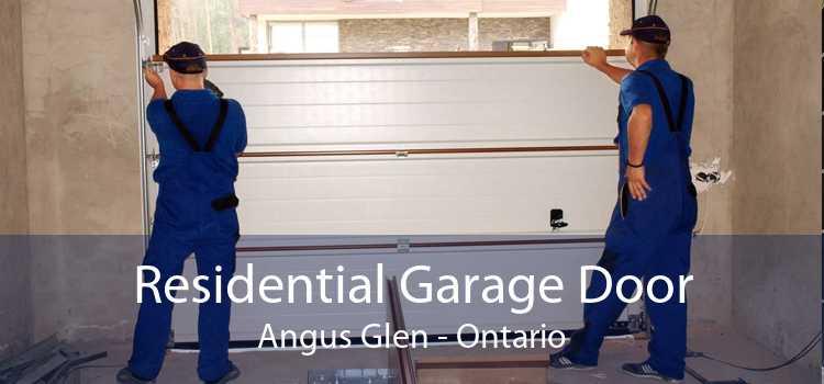 Residential Garage Door Angus Glen - Ontario