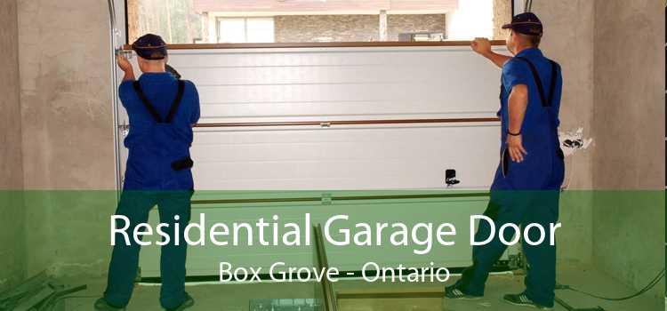 Residential Garage Door Box Grove - Ontario