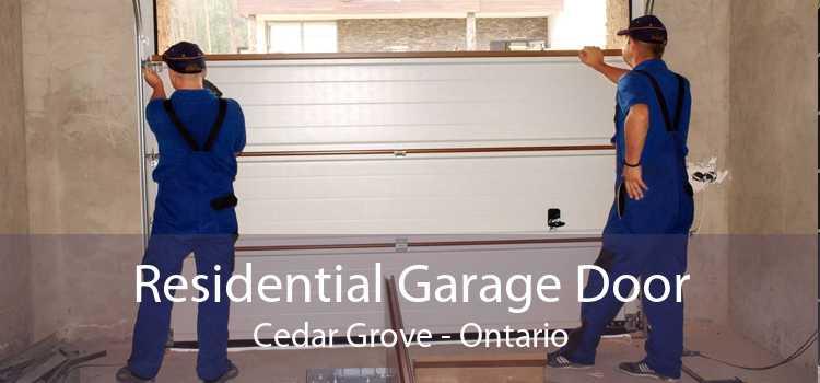 Residential Garage Door Cedar Grove - Ontario