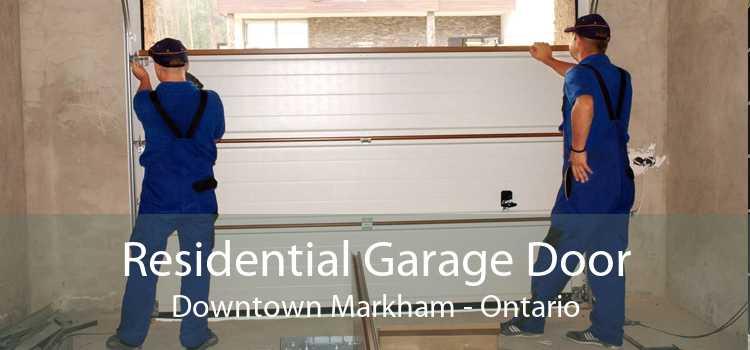 Residential Garage Door Downtown Markham - Ontario