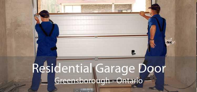 Residential Garage Door Greensborough - Ontario