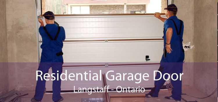 Residential Garage Door Langstaff - Ontario