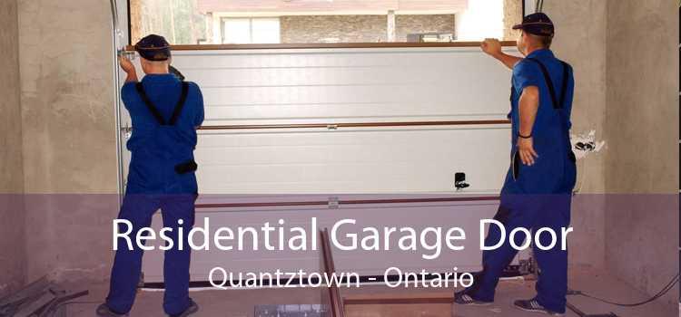 Residential Garage Door Quantztown - Ontario