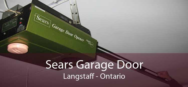 Sears Garage Door Langstaff - Ontario