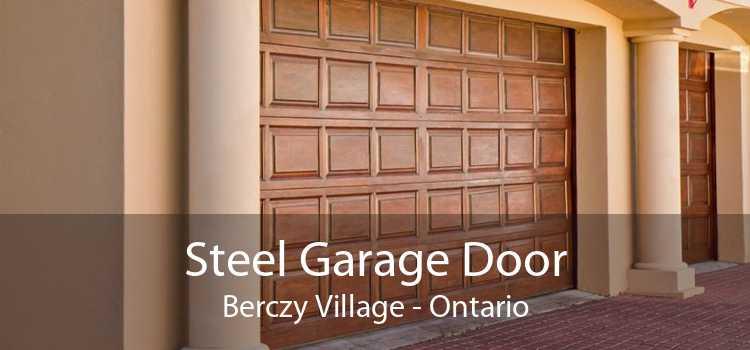 Steel Garage Door Berczy Village - Ontario