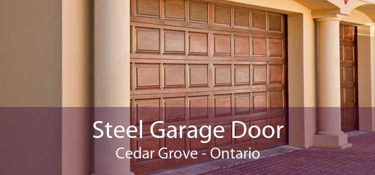 Steel Garage Door Cedar Grove - Ontario