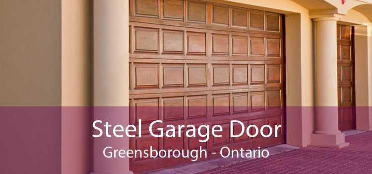 Steel Garage Door Greensborough - Ontario
