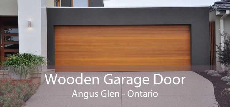 Wooden Garage Door Angus Glen - Ontario