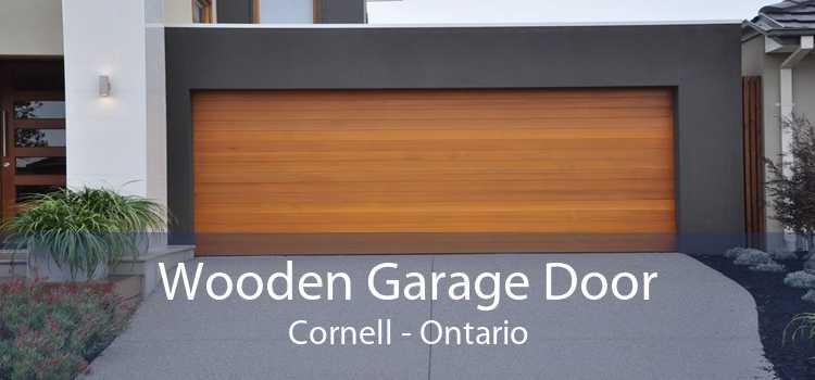 Wooden Garage Door Cornell - Ontario