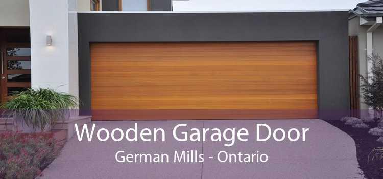 Wooden Garage Door German Mills - Ontario