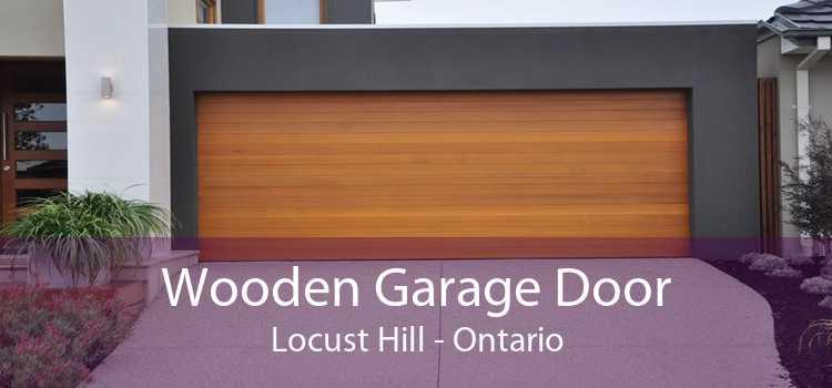 Wooden Garage Door Locust Hill - Ontario