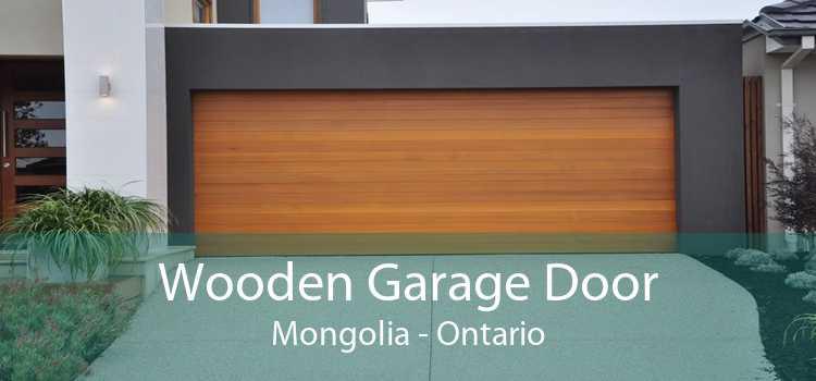 Wooden Garage Door Mongolia - Ontario