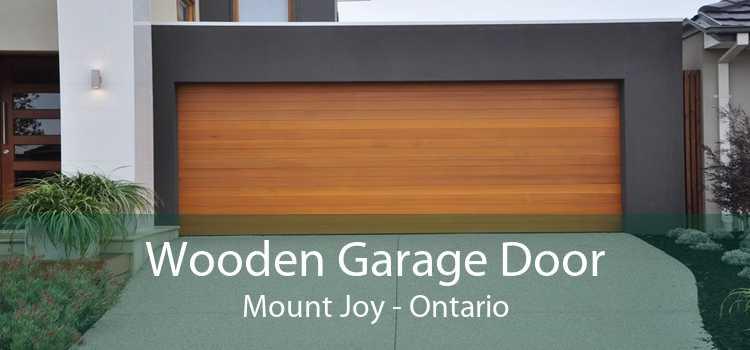 Wooden Garage Door Mount Joy - Ontario