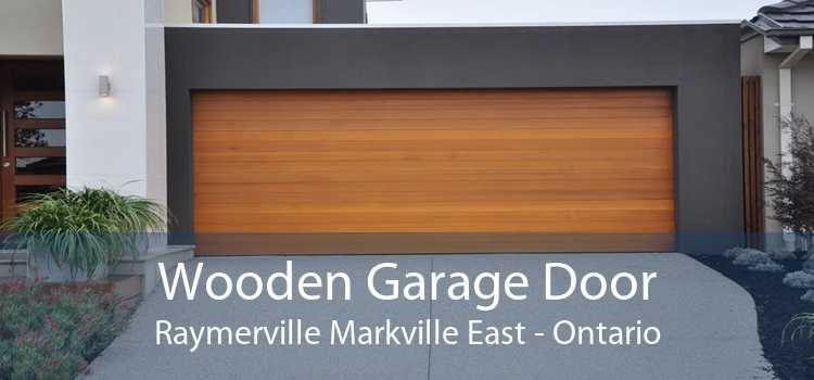 Wooden Garage Door Raymerville Markville East - Ontario